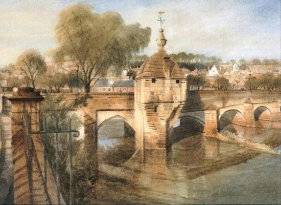 Chapel on the Bridge (Limited Edition Print)