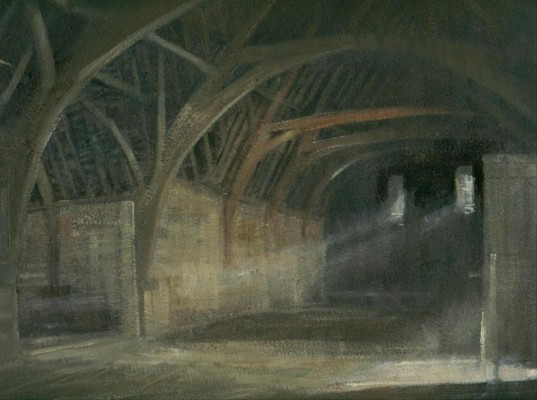 Lacock Tithe Barn (unframed)